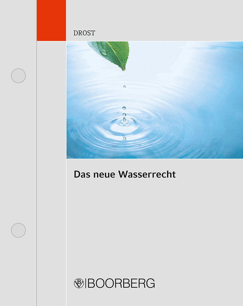 WHG Wasserhaushaltsgesetz
