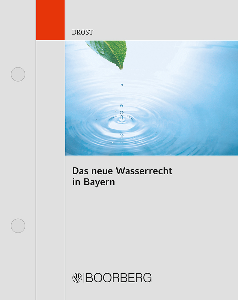 Wasserrecht Bayern Bayrisches Wassergesetz